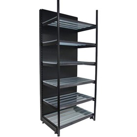 Shelving Bay | Liquor Outrigger Wall With Backpanel – 1000L x 2400H
