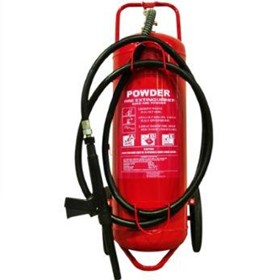 Mobile Dry Powder Fire Extinguisher - 50 kg