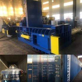 UK Brand Waste Metal Baling Machine, Metal Baler, Metal Compactor
