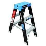 Double Sided Step Ladders - Fibreglass Trade Series
