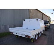 Custom-built Flat Top Ute Trailers