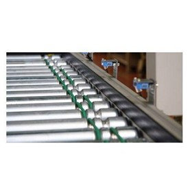 Band Driven Roller Conveyors