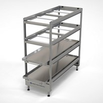 Mortuary Rack 4 Tier Cool Room Fixed
