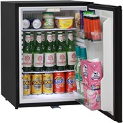 Silent Motel Quiet Mini Bar Fridge With Solid Door & Lock | DW60E