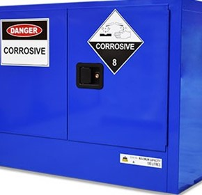 Corrosive Substances Cabinet | Dangerous Goods Storage | 100 Litre