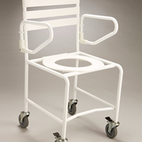 Mobile Shower Commode | Economy B1023