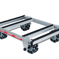 Rotacaster Rover Dollie with Wide Frame | Omni-Wheel Multi-Directional
