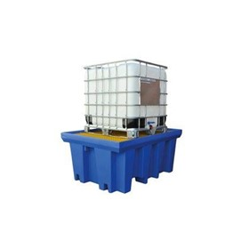 Polyethylene Single IBC Bunded Pallet