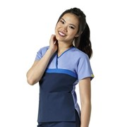 6026CA Tri Charlie Women's Fashion Medical Scrubs Top