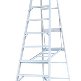 Aluminium Single Sided Step Ladder | Pro Series