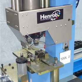 Twin Head Rivet Setter | Electric Riveting Machine | Henrob