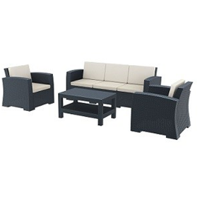 Lounge Set XL | Monaco Indoor/Outdoor