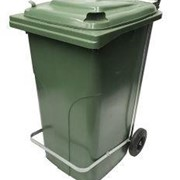 240 Litre Wheelie Bin with Handsfree Lid Lifter