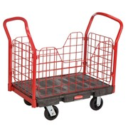 Side Panel Platform Truck/Trolley | Rubbermaid