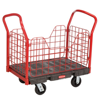 Rubbermaid Side Panel Platform Truck