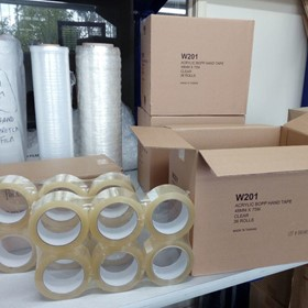 Acrylic BOPP Packaging Tapes