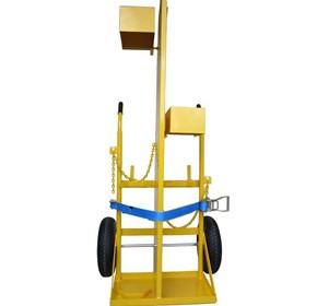 Custom Trolleys | 300Kg Craneable Oxy Acetylene Trolleys - CT400