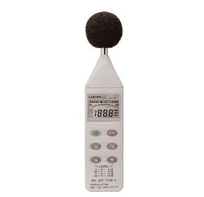 Sound Level Meter with Data Logging | Center 322