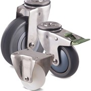 Fallshaw M Series Stainless Castors - 304 Stainless Steel