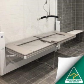 Powered Wall Mounted Adult Change Table