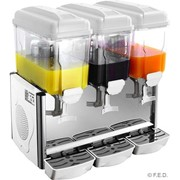 FED Triple 12L Paddle Action Drink Dispenser | KD-3X12P
