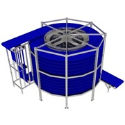 Spiral Food Cooling / Freezing Tower