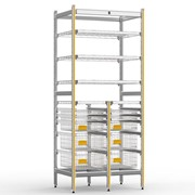 STERIRACK™ System 400D 2- Bay Storage Module