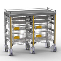 STERIRACK™ Trolley 400D Double