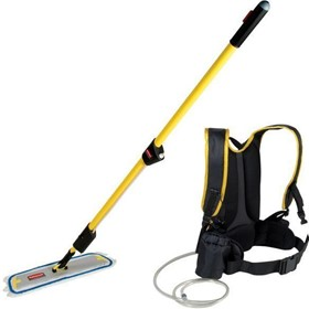 Microfiber FLOW Commercial Flat Mop Finish Kit