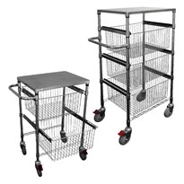 Wire Sliding Basket Trolleys