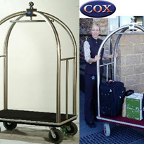 Birdcage Trolley - Luggage Garment Cart