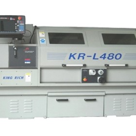 Control Unit | protoTrak SLX Series with Industrial Lathe | King Rich KR-L480