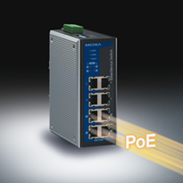 Moxa EDS-P308 Power over Ethernet Switch from Paqworks