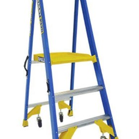 Industrial Step Ladder | Job Station - P170 FG