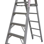 Aluminium Extension Step Ladders | Pro Series