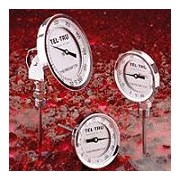 TEL-TRU INDUSTRIAL, LABORATORY, AND POCKET TEST BIMETAL THERMOMETERS