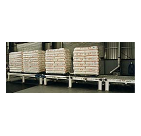 Pallet Conveyor from Bud-Pak / Accuweigh