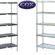 Mantova Shelving Systems - ABS, Wire Mesh, Stainless Steel