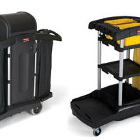 Rubbermaid Houskeeping Cart, Janitors Cart & Entire Range