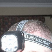 Cordless LED Headlamp
