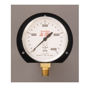 Safety Pattern Pressure Gauge