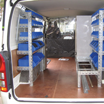 Van Racking by Stormor