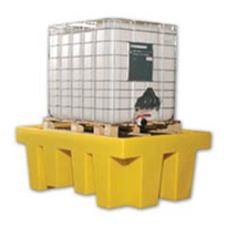 Single IBC Spill Containment Pallet