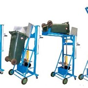 New Generation Bin Lifter - Distributed by R.J. Cox Engineering