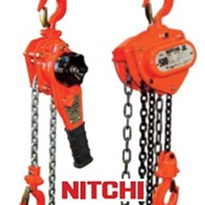 Nitchi Manual Hoisting Products