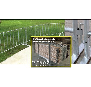 Event Fencing Modular & Portable Temporary Barrier System