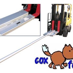 Roll Prong for Carpet & Rolls Forklift Attachment