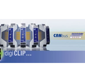 DigiCLIP - Industrial amplifier linked directly to Profibus