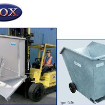 Forklift Waste & Storage Tipping Bins
