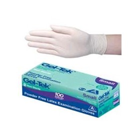 Gel-Tek Latex Gloves (Powder Free)